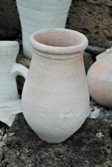 Vase,Krug,schlichte,bauchige Form,Terracotta,Tunesische Handarbeit,ca.27cm hoch