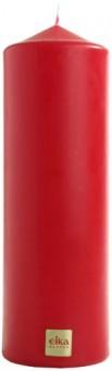 Stumpenkerze,rot,210 x 70 mm - 2 Stück - Eika Stumpen Kerze