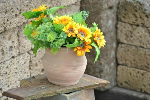 Blumenkübel,Spanien,Vasenform,bauchig,20cm,%preisreduziert%
