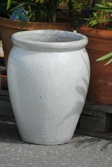 Kunert keramik pflanzk bel vase antik wei frostfest for Dekoartikel billig